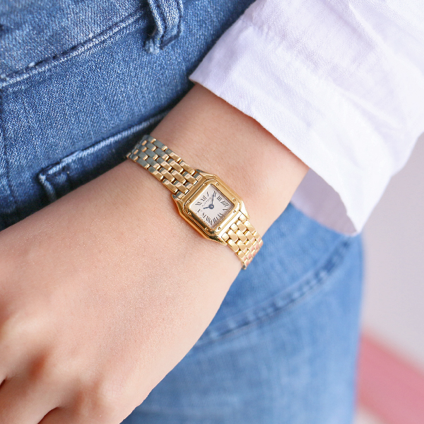 18K Yellow Gold Mini Panthere Watch