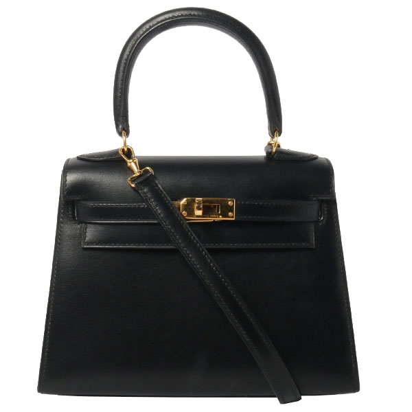 Mini Kelly Bag Black